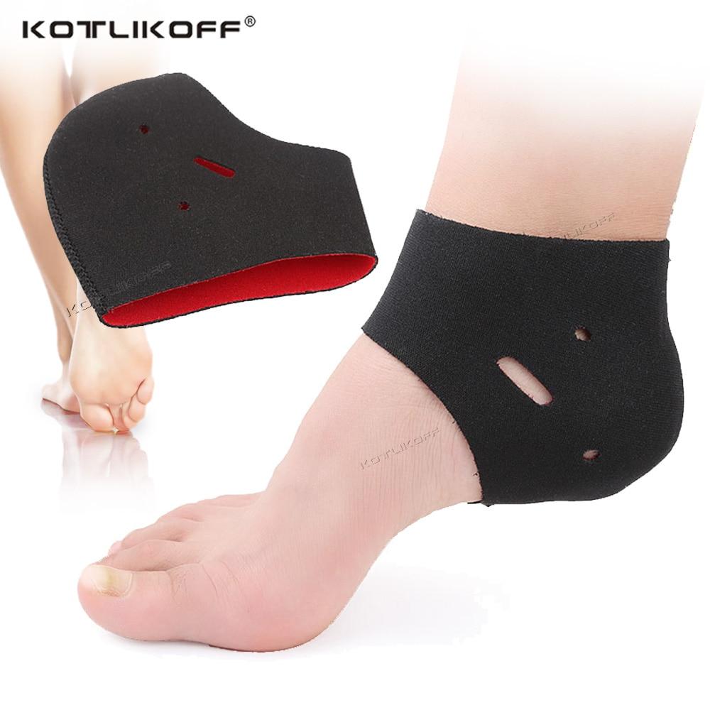 KOTLIKOFF Plantar Fasciitis Socks For Achilles Tendonitis Calluses Spurs Cracked Pain Relief Heel Pad Men Women Insert  Socks
