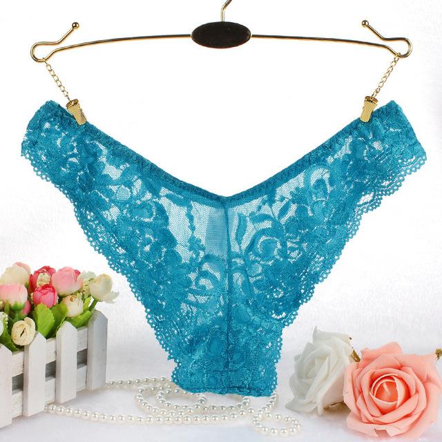 M-4XL NEW Plus Large Size women lace panties