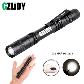 Pen Light Mini Portable LED Flashlight Waterproof 1 Switch Mode led flashlight For the dentist and for Camping Hiking Out super bright pen light mini portable led flashlight 1switch mode mini led flashlight for the dentist and for camping hiking out