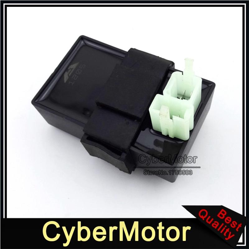 Цифровой Постоянный ток зажигания CDI ECU REV для Honda Helix CN250 Elite CH250 Скутер мопед