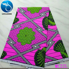 LIULANZHI Polyester Wax Prints Fabric Ankara 6 yards Stones African 2019 free shipping ML2ZL34