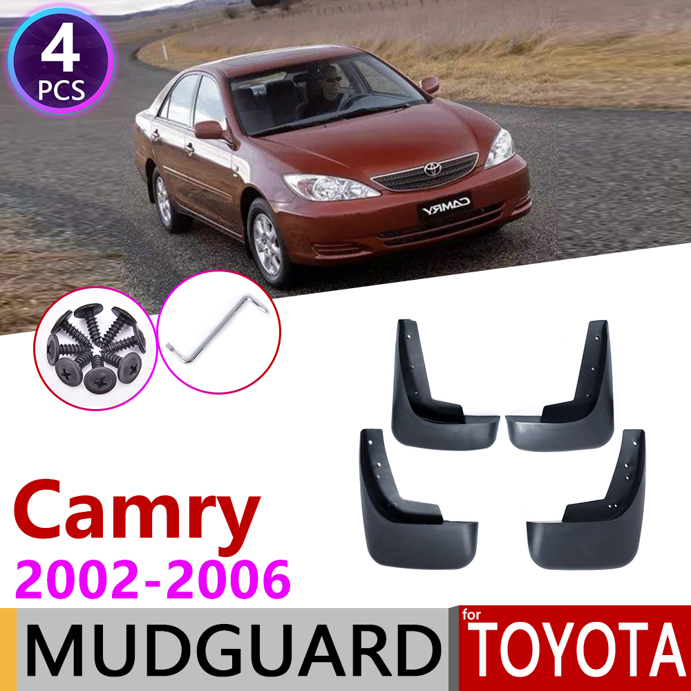 For Toyota Camry 30 XV30 2002~2006 Front Rear Mudflap Fender Mudguards Mud Flaps Guard Splash Flap Accessories 2003 2004 2005