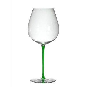 Image 5 - ハイエンドブルゴーニュ赤ワインガラスクリスタルガラスビッグベリーゴブレットボルドーシャンパンガラスの高級結婚式の宴会のトーストガラス