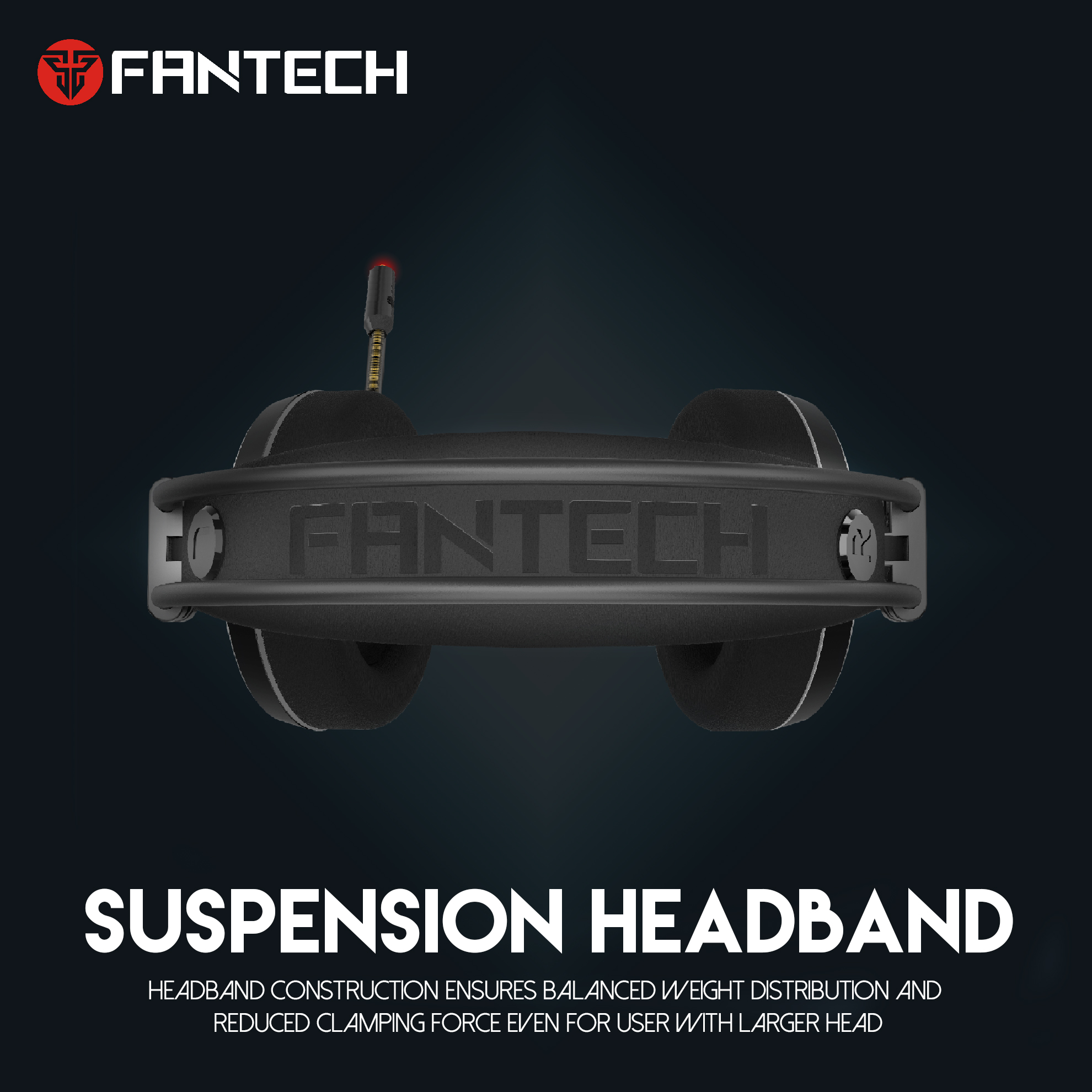 Fantech HG23 OCTANE 7.1 Gaming Headset 9