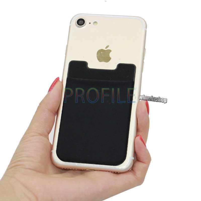 נייד ארנק מקרה עבור iPhone 7 8 S X גמיש פאוץ אשראי דבק כרטיס אדי סט מחזיק 3M מדבקה טלפון נייד כיסוי אחורי