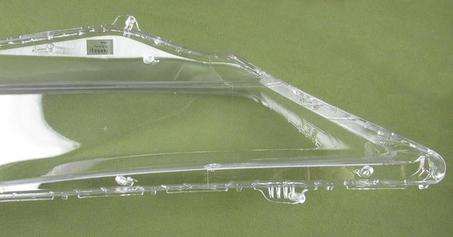 faróis transparentes lâmpadas lâmpada escudo máscaras de vidro