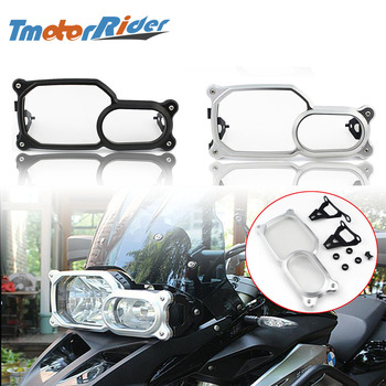Motorcycle 2015 2016 Frame Front Headlight Guard Cover Clear Lens Protector For BMW F650GS F700GS F800R F800GS / ADV 2008-2018