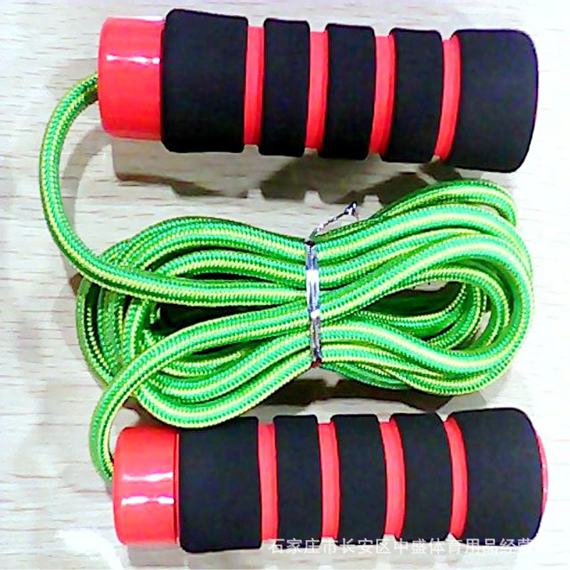 Factory Price Sale Jump Rope Bearing Aggravate Rope Skipping With Bearings Personal Single Person 3 M Jump Rope Rough Braided Ro