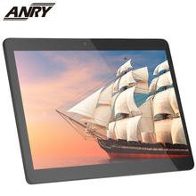 ANRY Wifi GPS 4G Tablet 10 inch Pc Android 7.0 IPS 1280x800 2MP+5MP Dual Cameral Octa Core Processor 4GB RAM 64 GB ROM Phablet teclast m20 dual 4g phone tablet pc mt6797 x23 deca core 4gb ram 64gb rom android 8 0 10 1 inch 2560 1600 dual wifi gps phablet