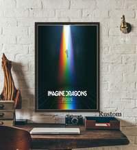 Постер по мотивам поп рок арта singer star Картина на холсте