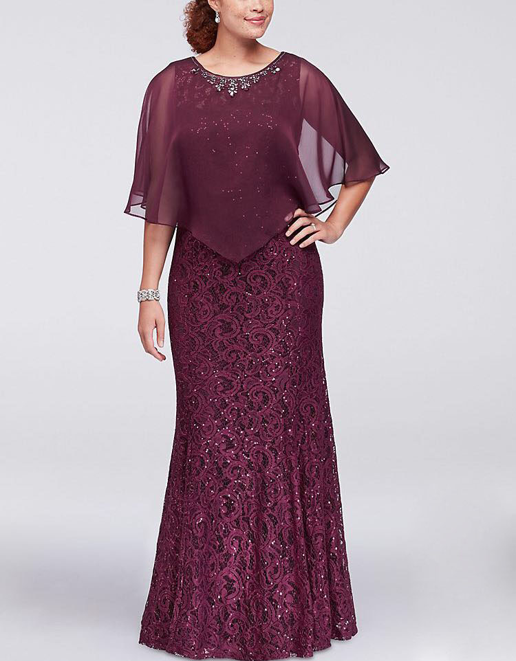 Tailor Shop Mother Groom Mother Of Bride Dresses Bride Mothers Outfit Party Dress Plus Size Burgundy Mother Of The Bride Gowns