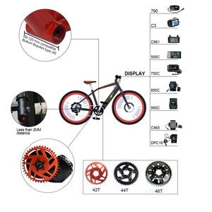 Image 4 - M615 52V 48V 1000W Bafang/8FUN BBSHD Ebike אמצע כונן מנוע חשמלי אופני המרת ערכת 48V10Ah 52V14Ah 17Ah סמסונג סוללה