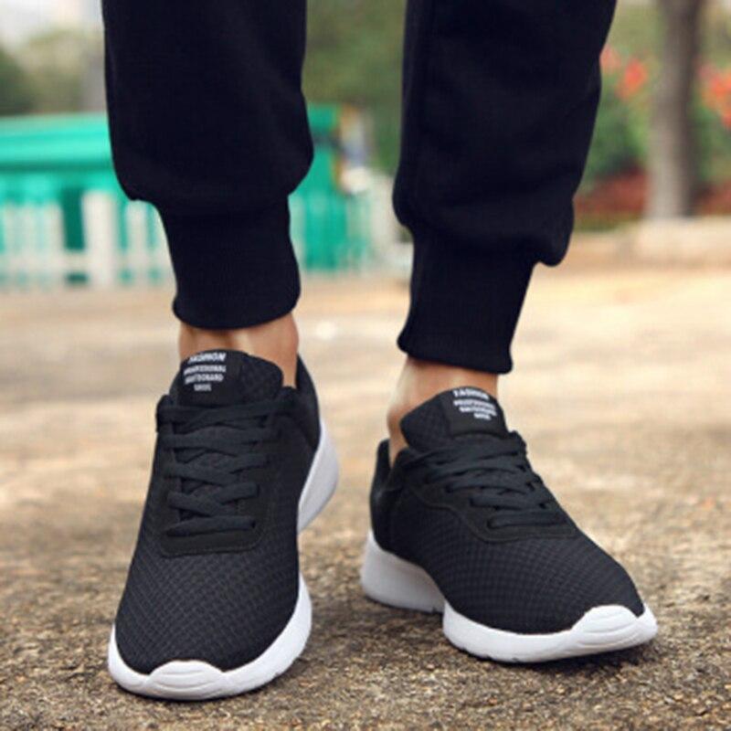 Male Shoes Trainers Tennis-Sneakers Footwear Plus-Size 35-47 Lightweight Krasovki Breathable