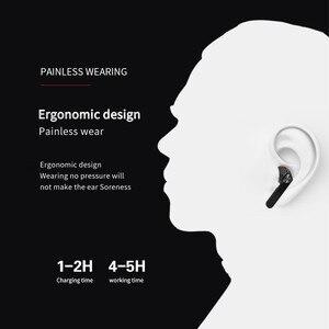 Image 3 - BE36 ステレオチャンネルをキャンセル人間工学と耳に充電ボックスデュアルマイクワイヤレスイヤホンbluetooth 5.0