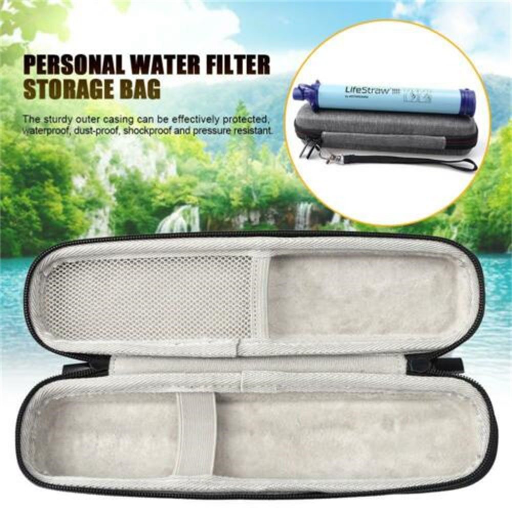 Portable Straw Kettle Bag Carrying Case For LifeStraw Life Straw Water Purifier