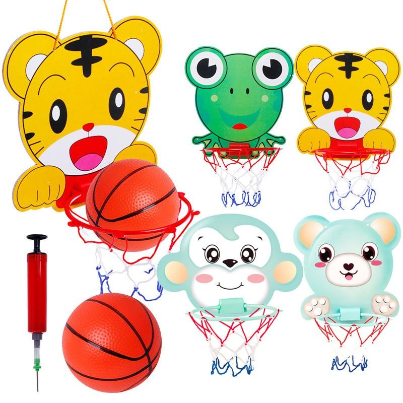 Детский баскетбольный набор подвесная Рама Детские игрушки для детских спортивных игр rinquedos Простые портативные баскетбольные детские игр...