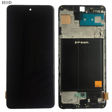 Incell Original LCD Display For Smsung A51 A515 A515F SM-A515F/DS SM-A515F/DSN SM-A515F/DST A516 M31S Digitizer Sensor Frame
