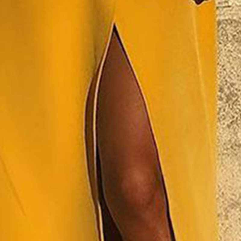 Sexy Belted Slit Blazer Dress Woman 2019 Long Sleeve Yellow Dresses Elegant Office Party Dress Plus size Sashes Vestidos Mujer