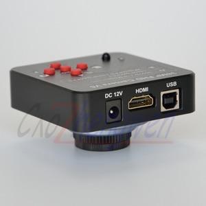 Image 1 - FYSCOPE Neue, 60fps 1080P 38MP HDMI USB Digitale Industrie Video Mikroskop Kamera Mikroskop HDMI digital kamera + 8G SD Karte