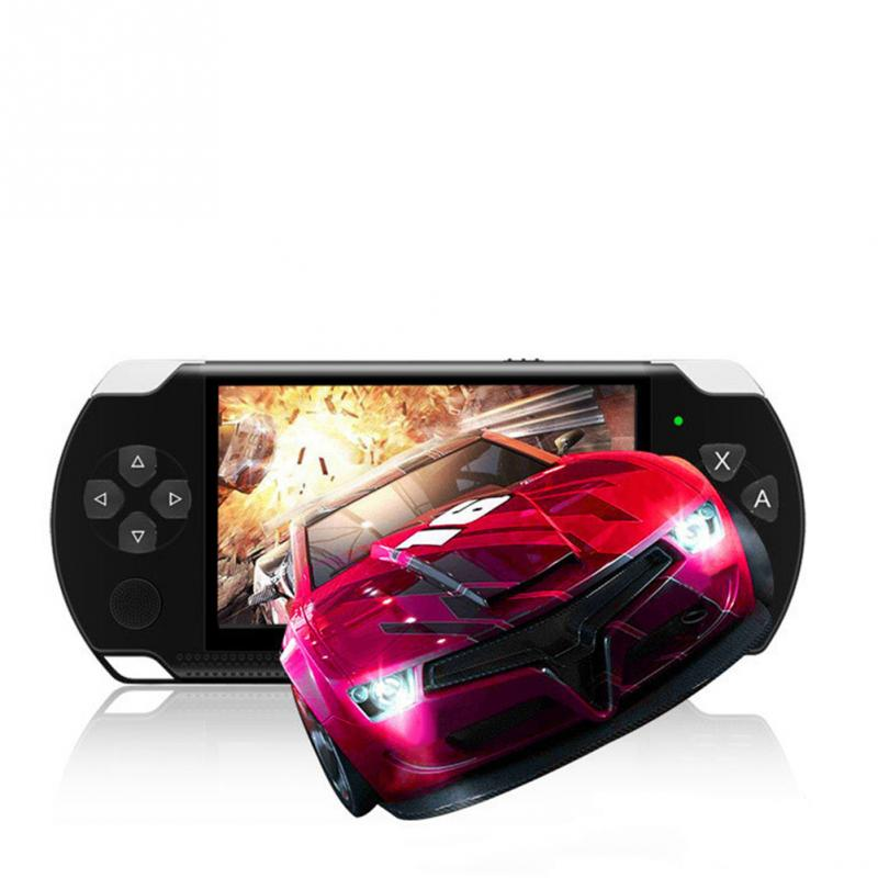 Купить с кэшбэком Handheld Game Console 4.3 inch 8G Easy Operation screen MP3 MP4 MP5 player support for psp game,camera,video,e-book
