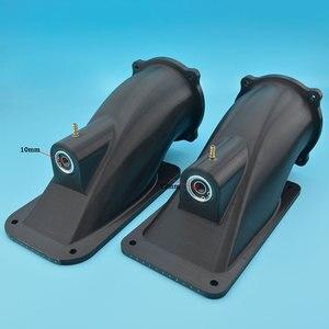 Image 5 - איכות טובה שחור 100mm סילון מים מרפק עם 10mm נירוסטה פיר עבור סירת גלשן Rc דגם סירה