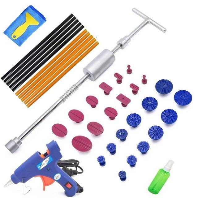 Zestaw narzędzi dentystycznych usuwanie zębów Paintless narzędzia do naprawiania wgnieceń naprawa zębów samochodowych prostowanie wgnieceń instrumenty Ferramentas