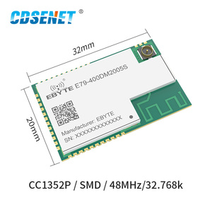 Image 2 - CC1352P SMD IoT Transceiver Modul SUB 1GHz 2,4 GHz 433MHz E79 400DM2005S ARM Modul