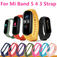 Wristband Tpu-Strap Mi Bend5 Xiaomi Silicone for 5/4-strap/Silicone/..