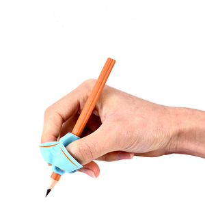 3 Finger Sets Writing Kindergarten Children Beginners Correct Grip Pen Silicone Pen Writing Help Fixture Correct Finger Position