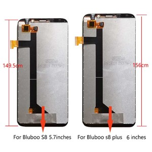 Image 2 - Tela lcd aicsrad para bluboo s8/s8 plus, display de toque e montagem de tela para s 8 lite s8plus, reparo perfeito qualidade original
