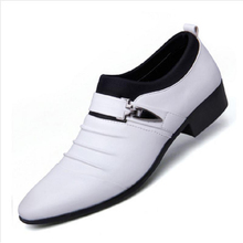 цены Four Seasons Youth Male Shoe Leather Shoes Male Will Code Man Correct Dress Business Affairs Casual Shoes Trend Shoes