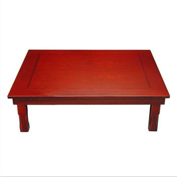 Rectangle 90x75CM Korean Coffee Table Folding Legs  Living Room Antique Furniture Low Small Traditional Floor Korean Tea Table oriental antique furniture design japanese floor tea table small rectangle home living room wooden coffee tatami low table wood