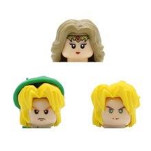 A lenda da figura cabeça dos desenhos animados jogo princesa zelda link hyrule guerreiros blocos de construção modelos tijolos brinquedos para crianças