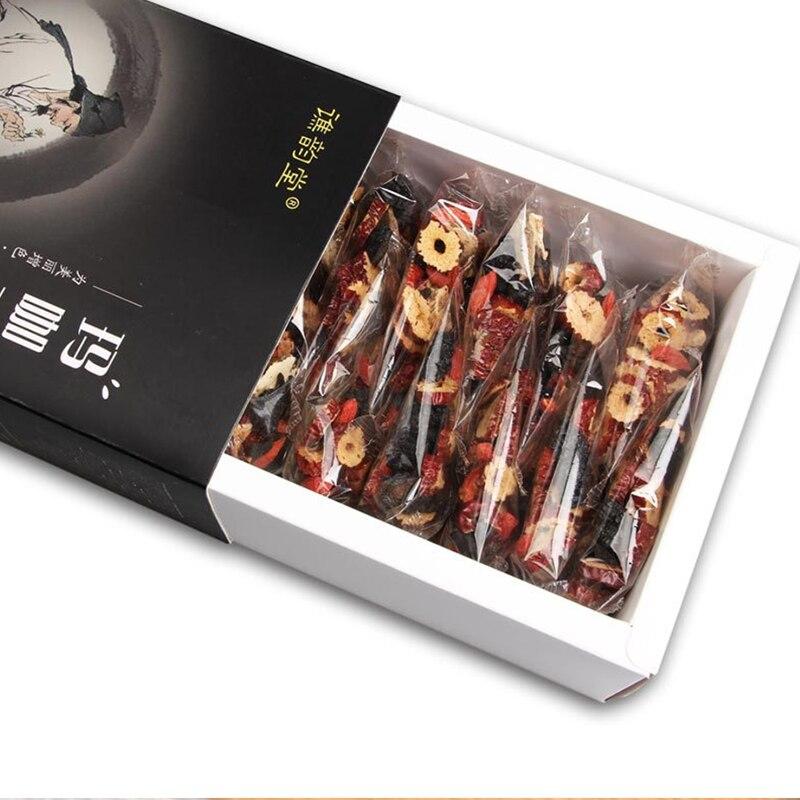 Wu Yun Tang Maca Five Treasure Tea 300g Gift Box Men's Tea Maca Maca Huang Jing Mulberry Vitality Kidney Tea 4