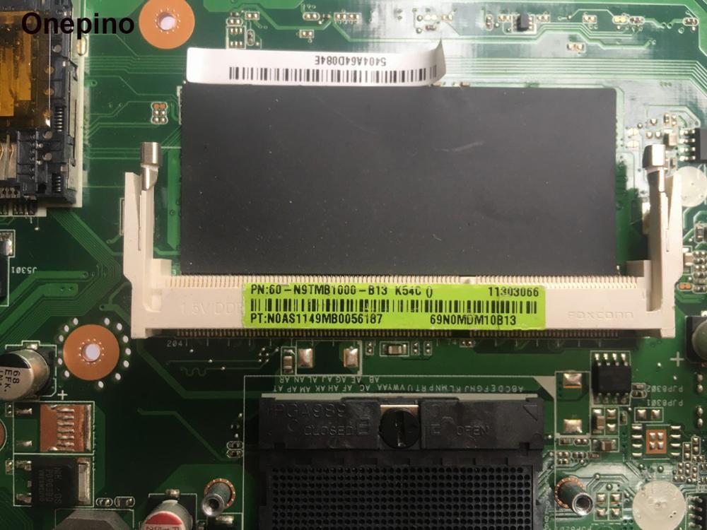K54C Laptop motherboard for ASUS K54C X54C K54 K54Ly K54hR system board 4GB ram onboard REV 2.1 tested working 2