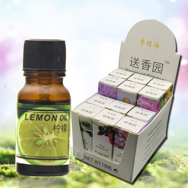Air Freshener Essential Oils for 10ml aroma diffuser Humidifier Aromatherapy Water-soluble Oil Lily jasmine Smell Remover image