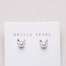 2019 New Original Pearl Small Cute Animal Silver Stud Earrings for Women Girls Jewelry Orecchini Argento Pendiente De Plata 925