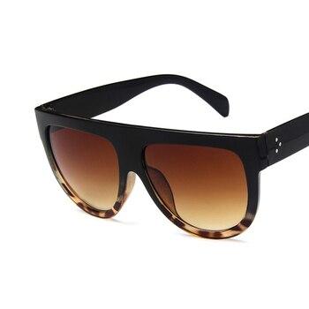 LeonLion Retro Sunglasses Women 2019 Vintage Glasses For Women Big Sunglasses Women Luxury Brand Mirror Oculos De Sol Feminino 2