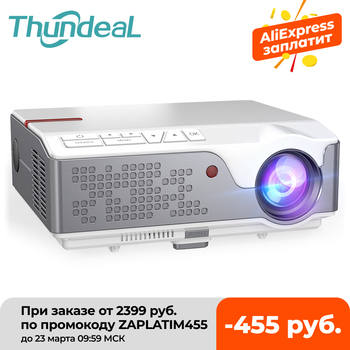 ThundeaL Full HD 1080P Projector TD96 TD96W Android WiFi LED Proyector Native 1920 x 1080P 3D Home Theater Smart Phone Beamer 1