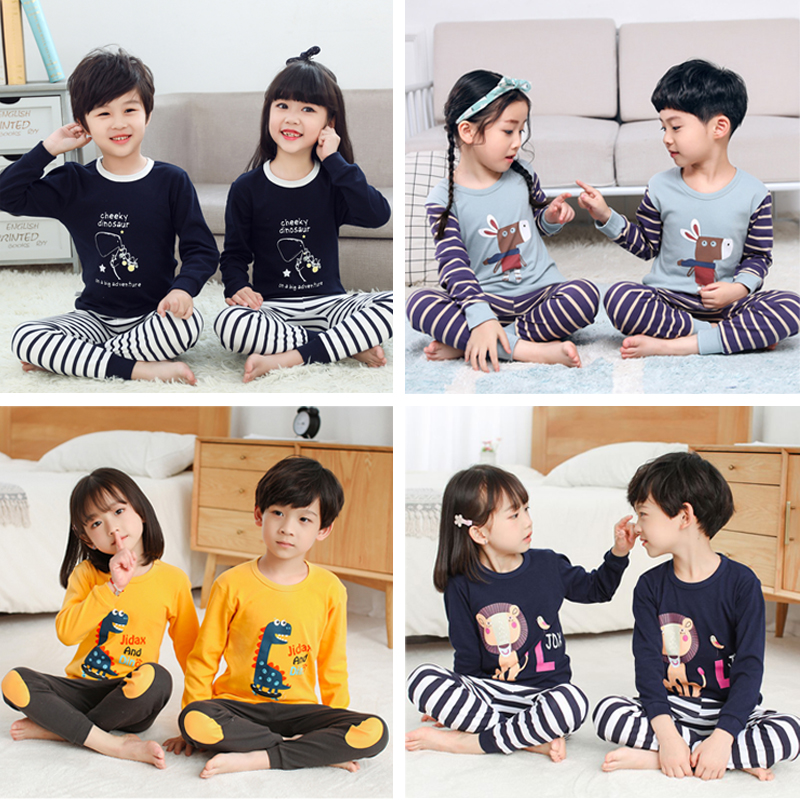 Избранные 2020 детский свитер костюм мультфильм одежда пальто + брюки 2шт набор детские мальчики одежда для девочек осень повседневная спортивная одежда