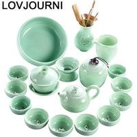 Akcesoria Do Kuchni Kitchen Mutfak Organizer Vintage Keukenhulpjes Theepot Pot China Home Decoration Accessories Chinese Tea Set|Teaware Sets| |  -