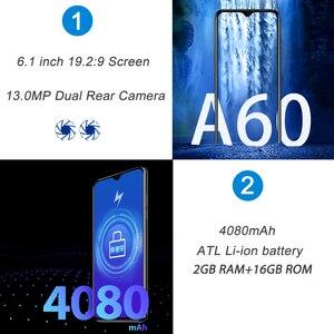 Image 3 - Blackview هاتف ذكي A60 ، معالج رباعي النواة ، بطارية 4080 مللي أمبير ، 16 جيجابايت ، 6.1 بوصة ، شاشة 19.2:9 ، كاميرا مزدوجة ، 3G