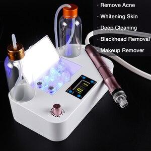 Image 2 - Kleine Belletjes Schoonheid Apparaat Zuig Mee eter Verwijderen Vacuüm Hydraterende Micro Bubble Zuurstof Spray Injectie Huidverzorging Gereedschap