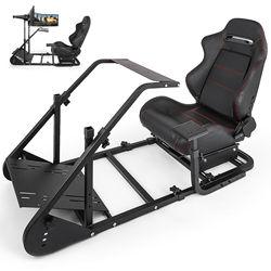 RS6 гоночный симулятор кокпита игровой стул с подставкой растягивающийся регулируемая высота