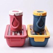 Boîte à déjeuner Bento micro-ondas micro-ondes pique-nique Fiambrera Sac japonais étanche Sac Isotherme récipient alimentaire pour enfants