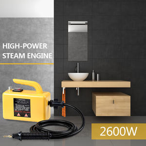 220V 2600W Yellow Handheld Multi Purpose High Pressure Chemical Free Steam Cleaner