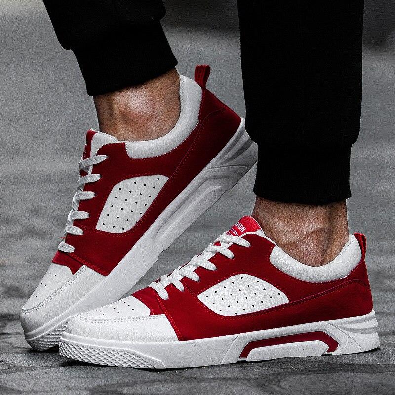 shoes men 2019 Autumn and winter men's flat shoes fashion shoelaces casual breathable men shoes fashion casual sports shoes male