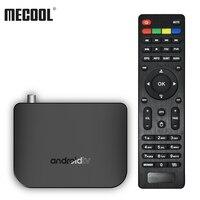 MECOOL M8S PLUS TV Box Android TV BOX DVB T2 Set top Box STB Amlogic S905D Quad core 1GB/8GB 4K WiFi LAN H.265 Airplay Miracast