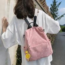 Vento Marea Anti Theft Women Backpack Travel 2020 Schoolbag For Teenage Girls Multifunction Student School Bag Shoulder Purses