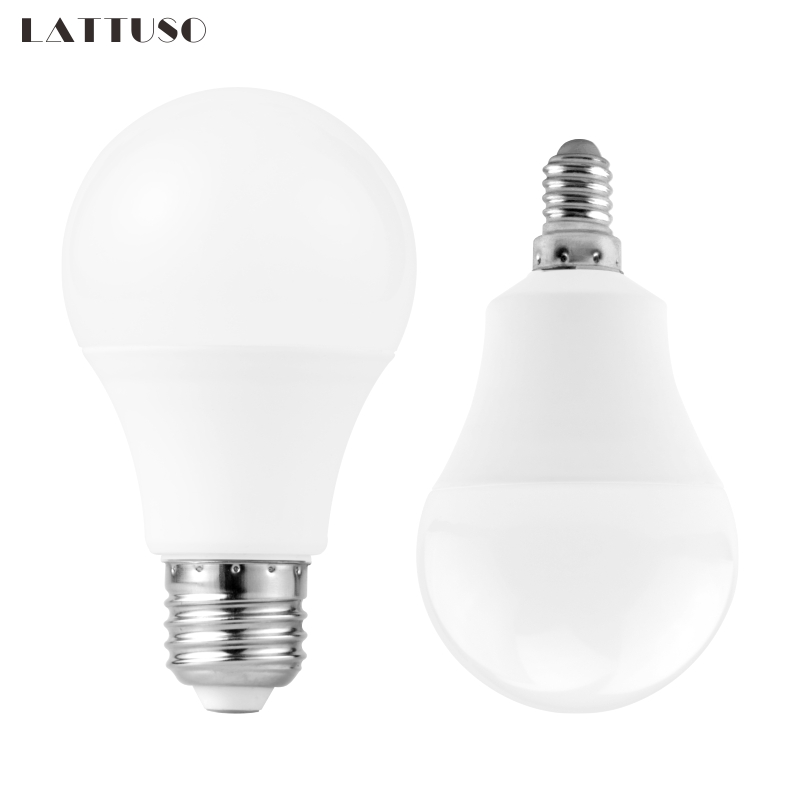 LED Bulbs E27 3W 6W 9W 12W 15W 18W 20W AC 220V 230V Smart IC SMD2835 LED Candle Light Lampada Ampoule Bombilla Lamps Light